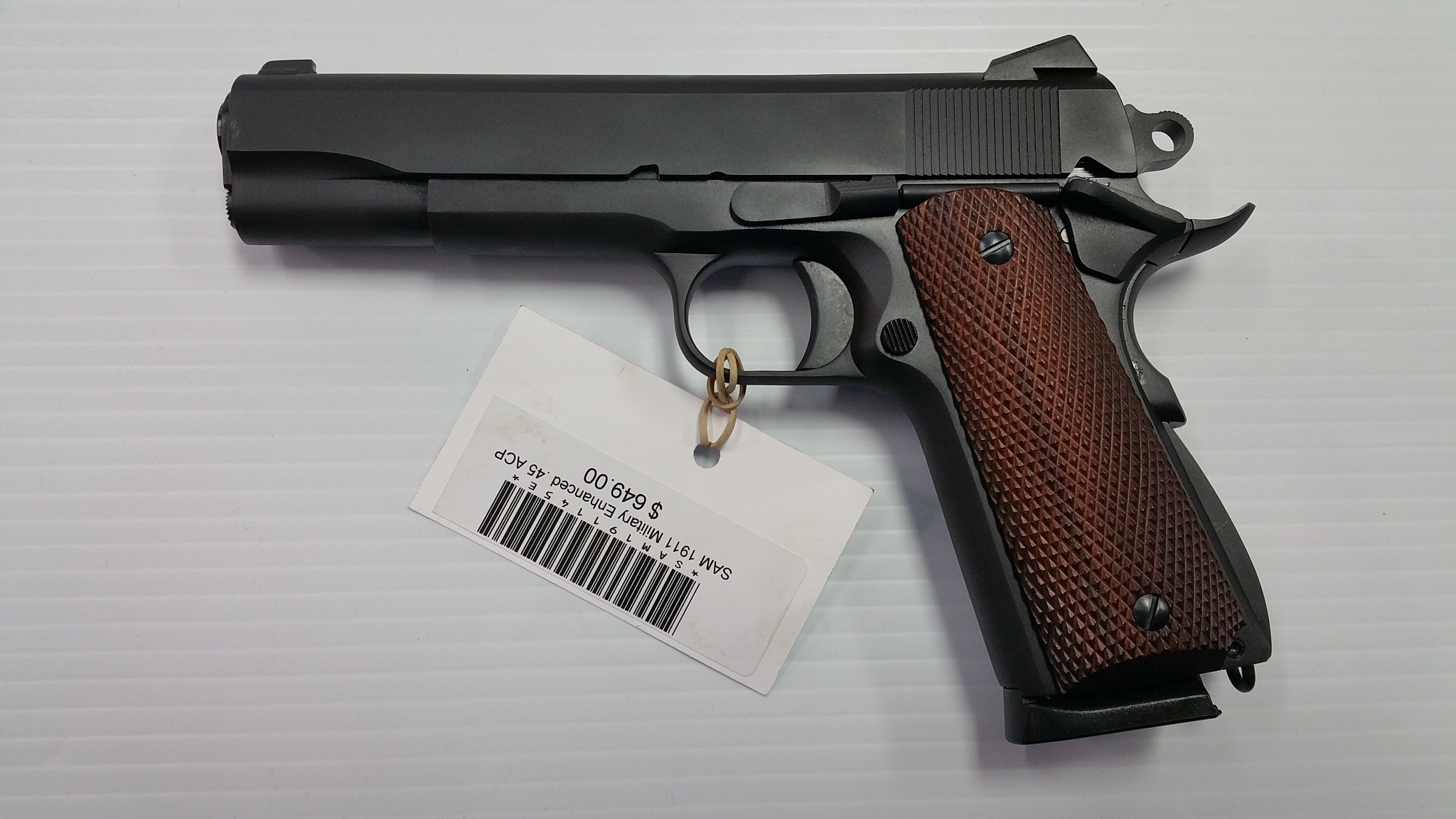 Shooter Arms Manufacturing Military Enhanced 1911 .45 acp