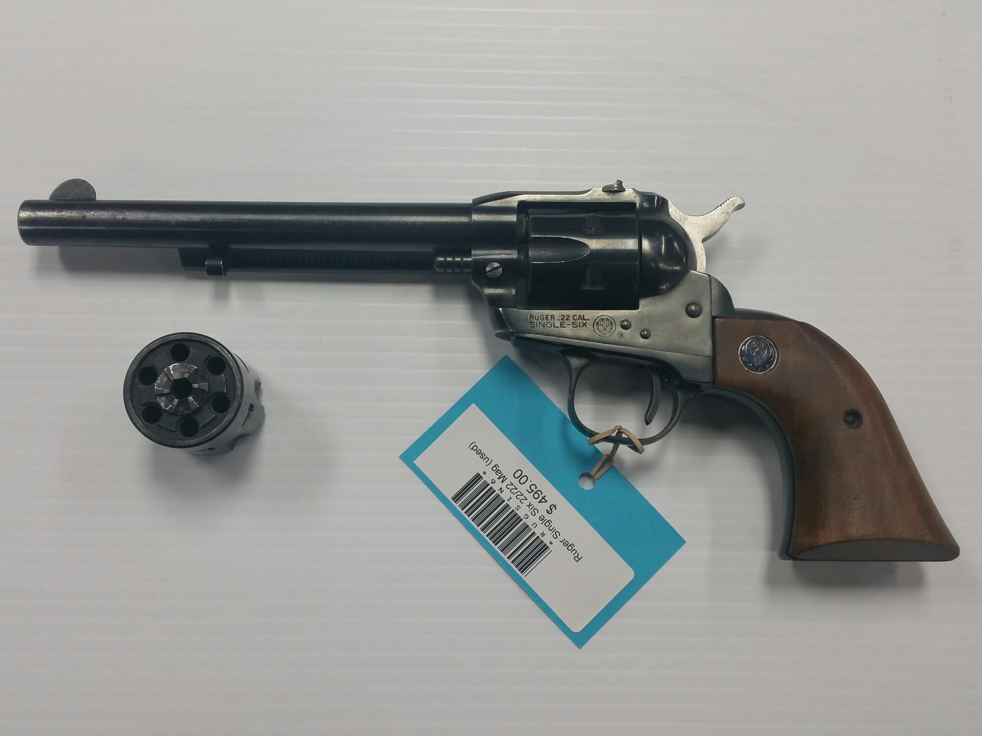 Ruger Single Six .22 LR/.22 MAG (USED)