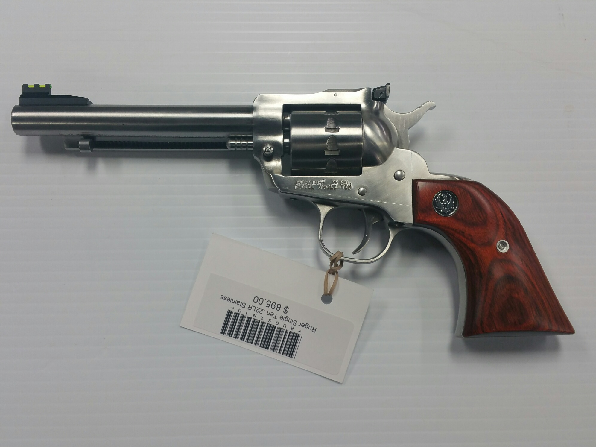 Ruger Single Ten Stainless .22 LR