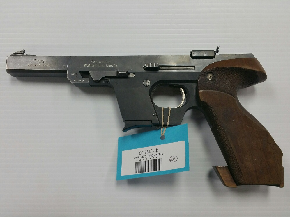 Walther GSP .22 LR (USED)