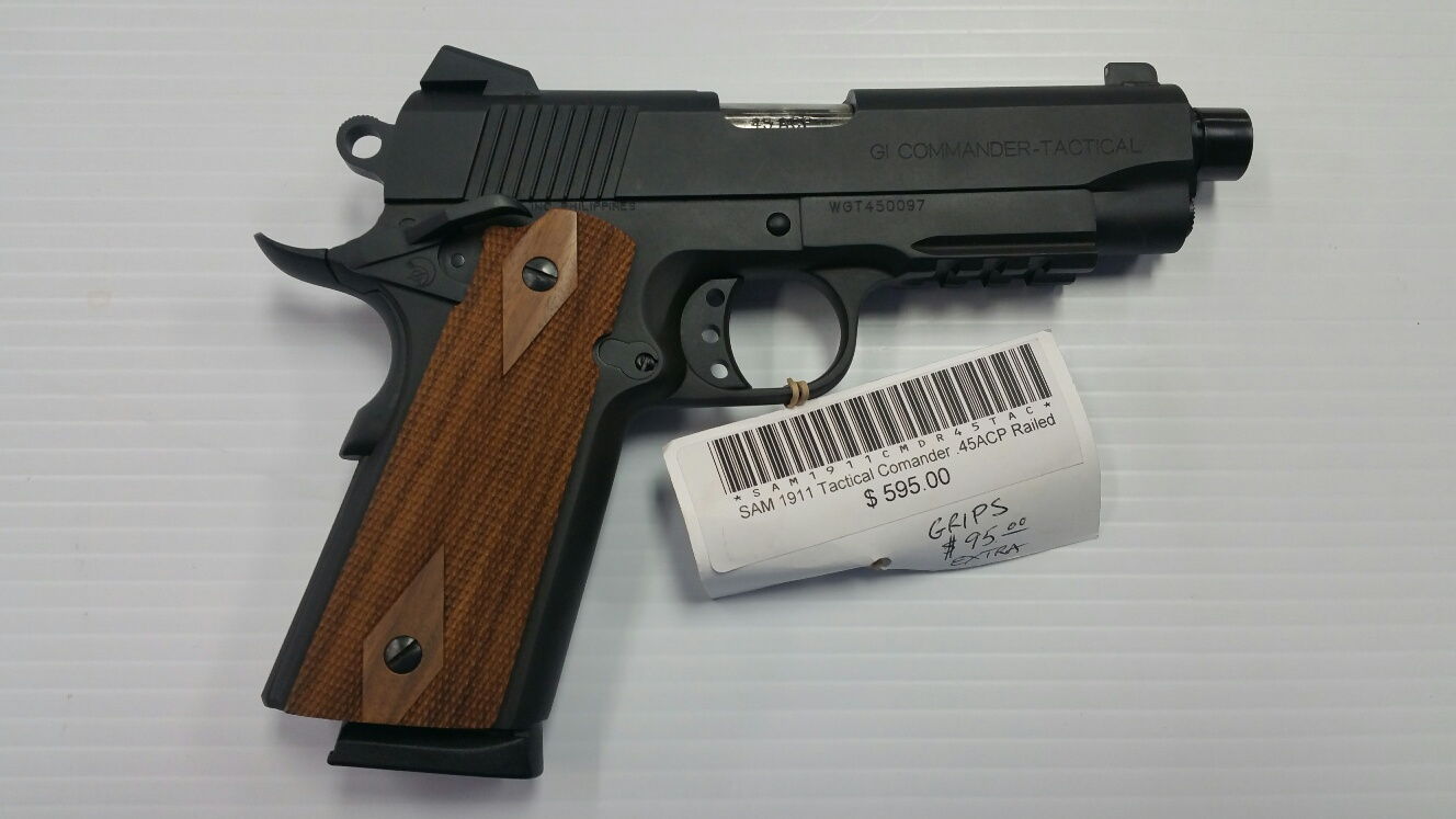 Shooters Arms Manufacturing 1911 Tactical Commander .45 acp