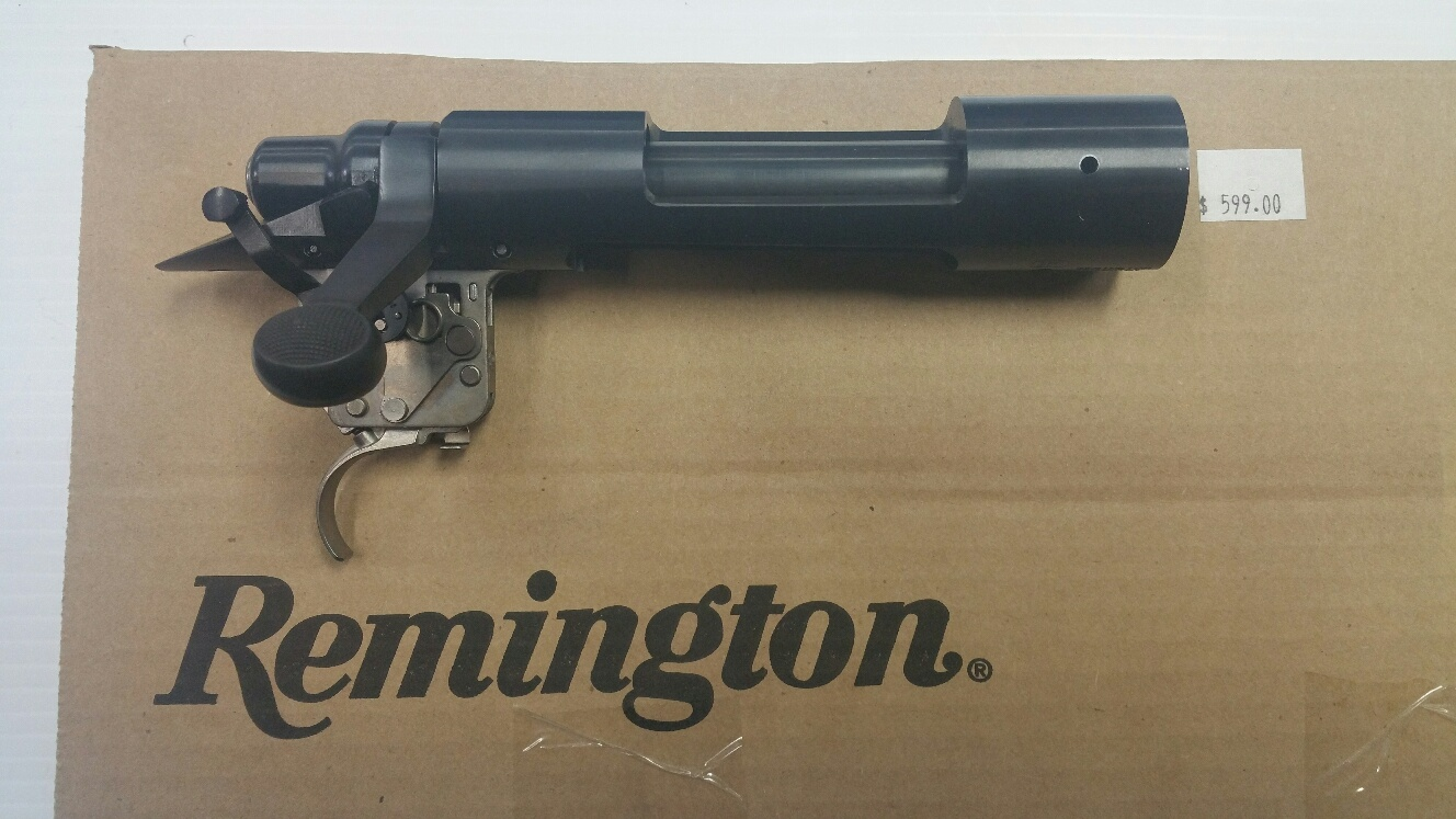 Remington Short Action Receiver Blued 308 bolt face.