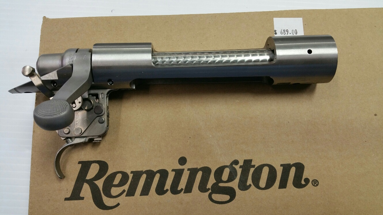 Remington Long Action Stainless Receiver (Non-Magnum Bolt Face)