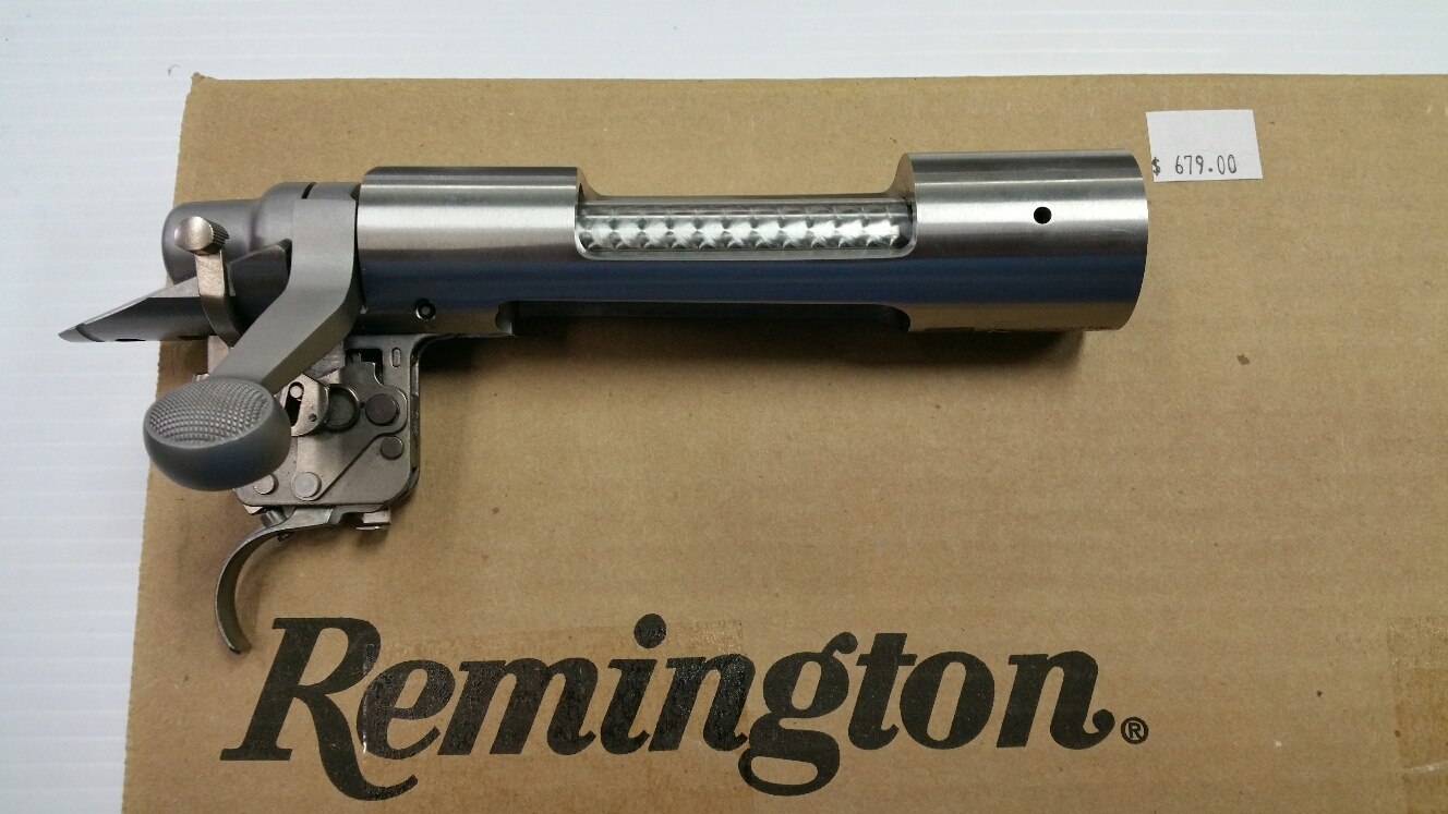Remington Short Action Stainless Receiver (Non-Magnum Bolt Face)