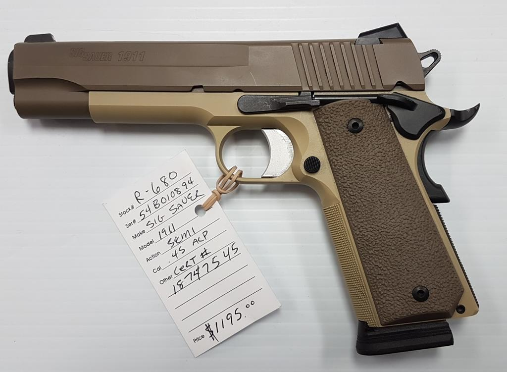 Sig Sauer 1911 Two Tone (USED) .45 acp