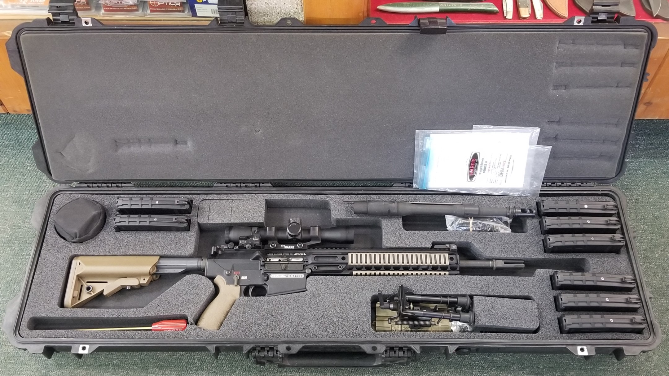 L.M.T Sharpshooter™ Rifle Weapon System .308 win (USED)