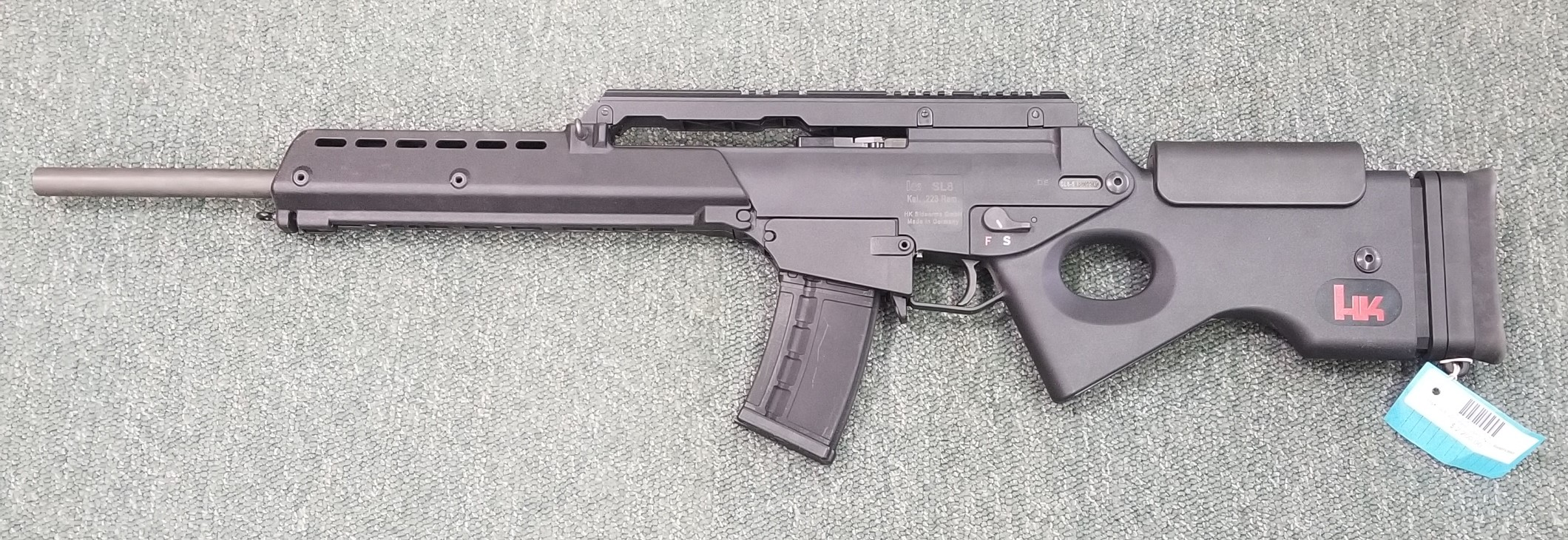 H&K SL8 .223 Rem with 5 mags (USED)