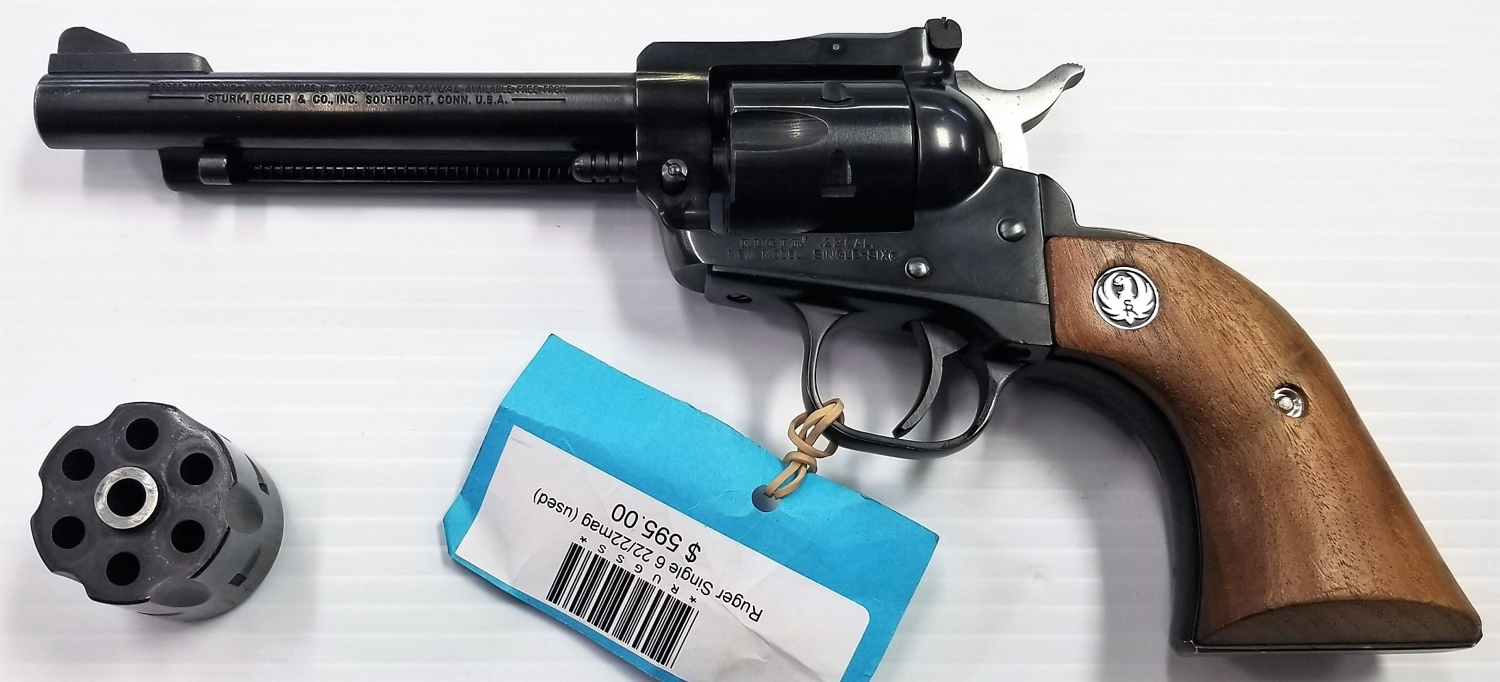 Ruger Single Six .22 LR/.22 MAG (pre-owned)