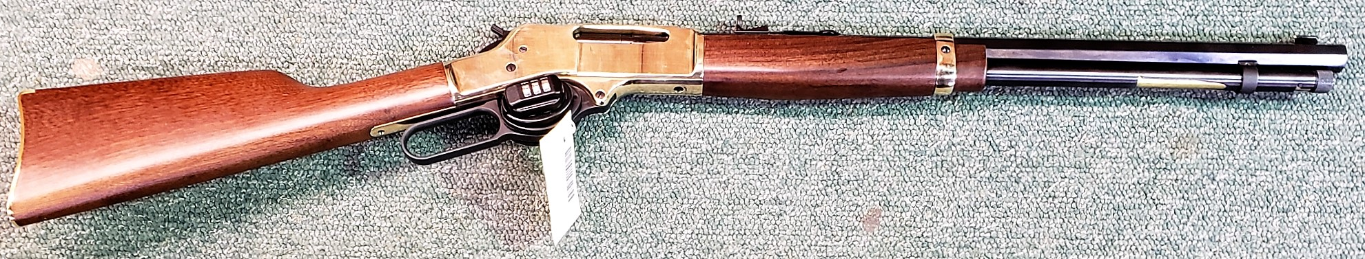 Henry Brass Lever Action Rifle 30-30 (used)