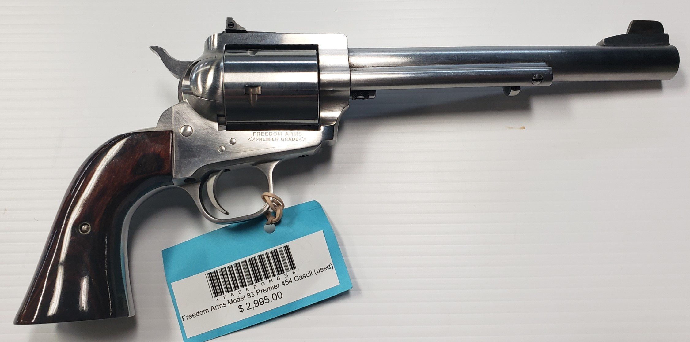 Freedom Arms Model 83 Premier 454 Casull (used)