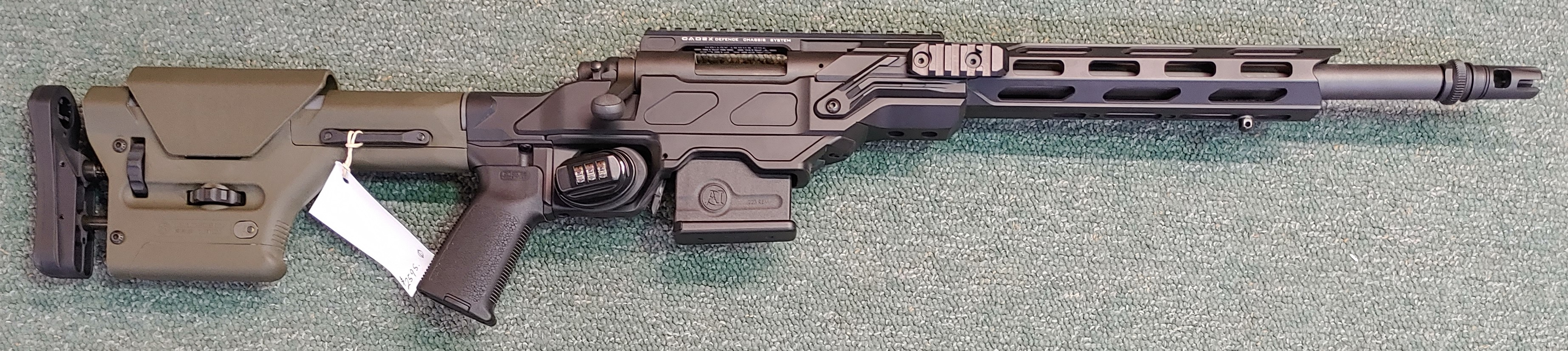 Remington SPS Tactical in Custom Cadex stock .223