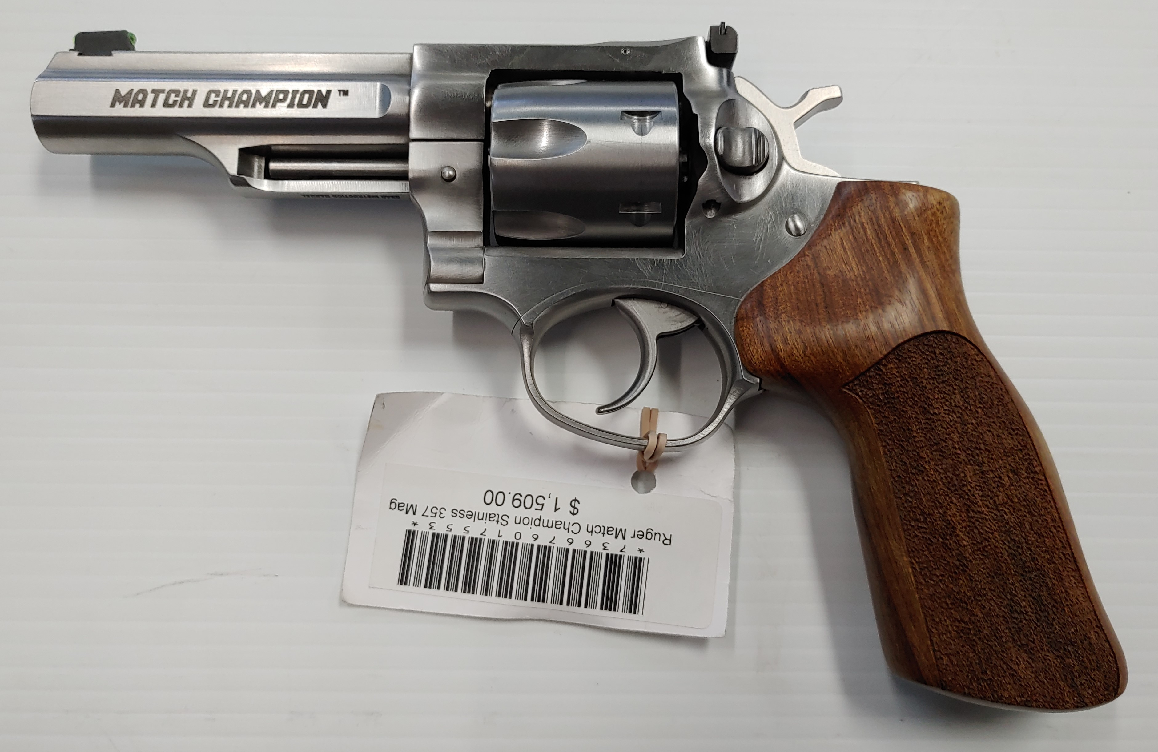 Ruger Match Champion Stainless .357 mag.