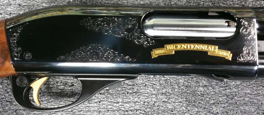 Remington 870 WINGMASTER 200TH YEAR ANNIVERSARY LIMITED EDITION - Click Image to Close