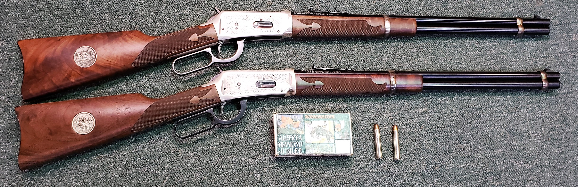 Winchester Model 94 Diamond Jubilee 2 Gun Set