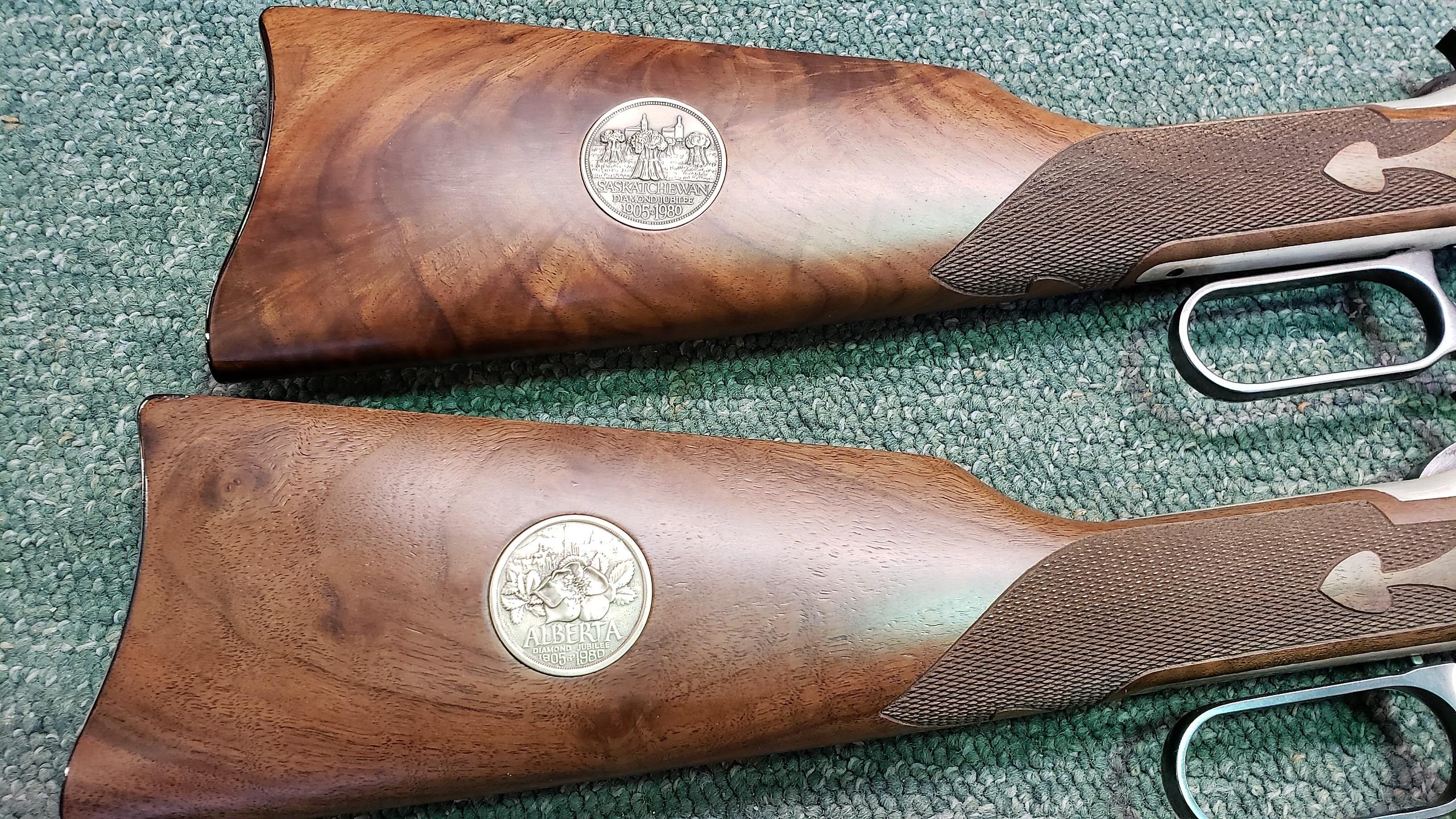 Winchester Model 94 Diamond Jubilee 2 Gun Set - $2,600 00 : Arnies