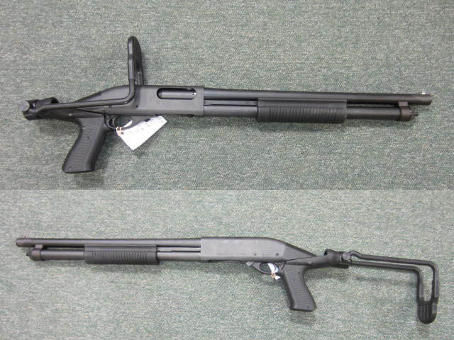 Remington 870 12 Gauge Pump Shotgun (Folder)